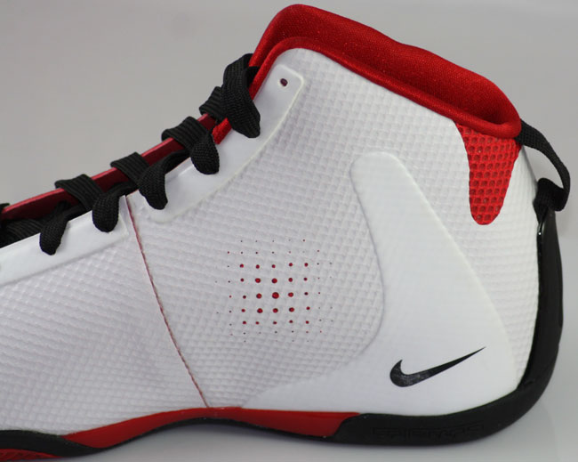 reliable quality discount classic shoes Nike Zoom BB 1.5 - White/Black/Red | Sole Collector