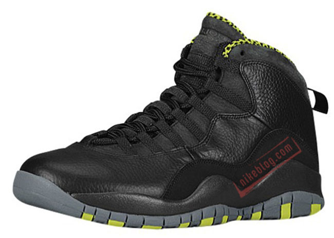 womens air jordan retro 10 yellow black