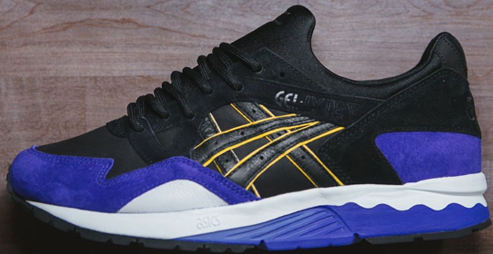 Asics Gel-Lyte V Black/Gold-Purple