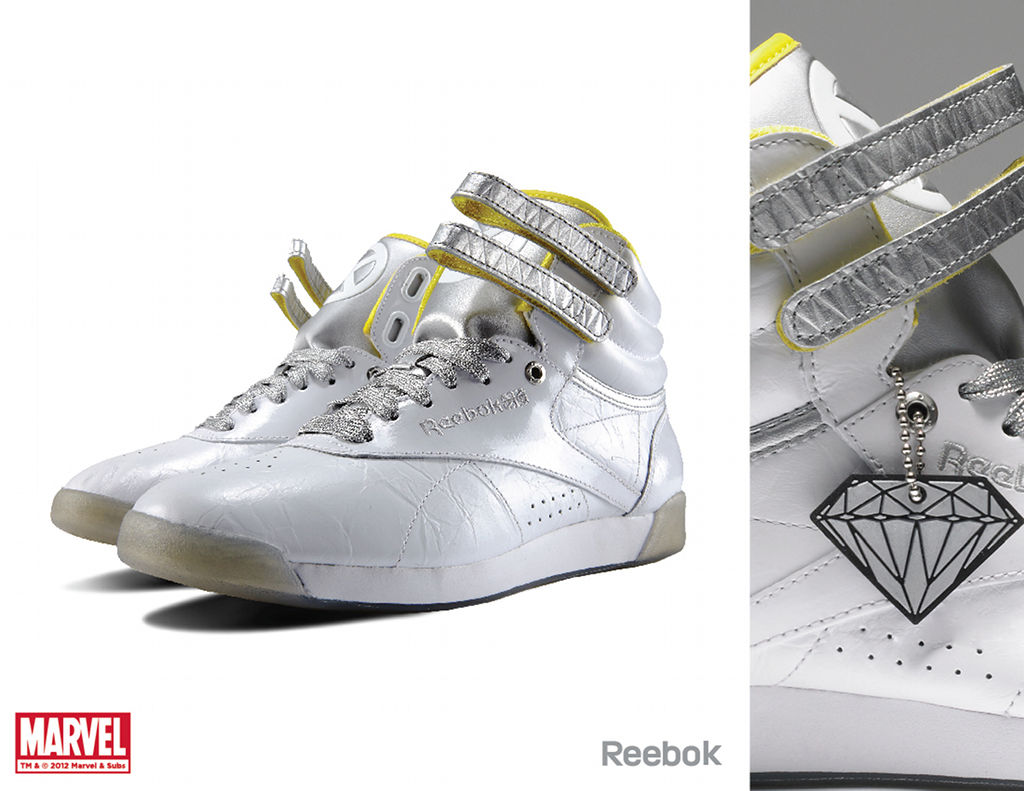 Marvel x Reebok Collection - Emma Frost Freestyle Hi