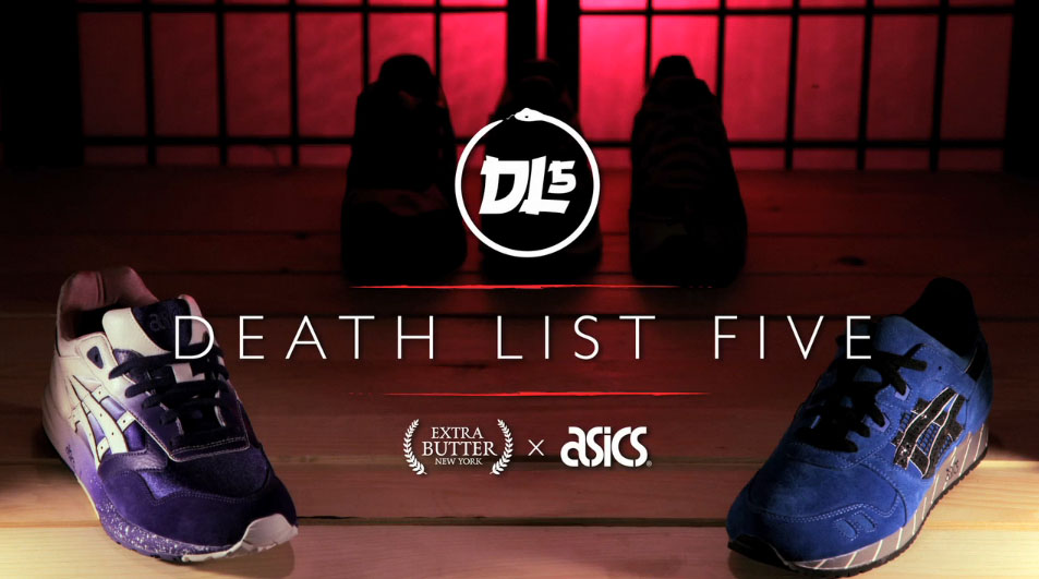 "Extra Butter x ASICS ""Death List 5"" Volume 1"