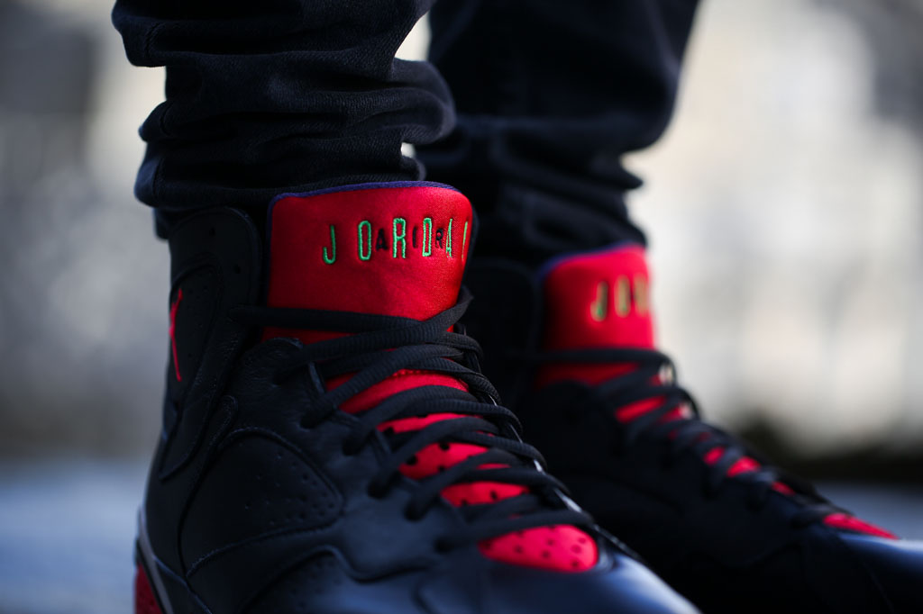 Air Jordan 7 Marvin the Martian On-Foot 304775-029 (3)