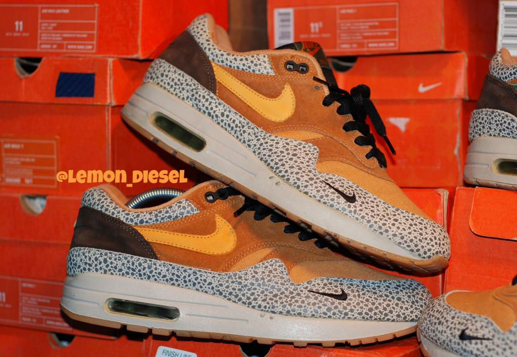 Pickups of the Week // 4.7.13 - Nike Air Max 1 B Atoms Safari by lemon_diesel
