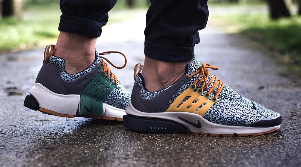 See 'Safari' Nike Air Prestos On-Feet