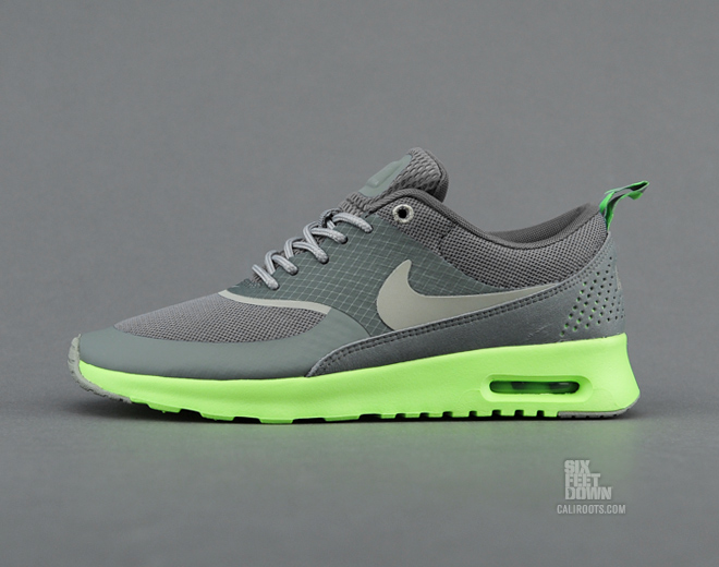 Nike WMNS Air Max Thea - Mercury Grey   Mine Grey   Flash Lime ... 8ce9d673eb