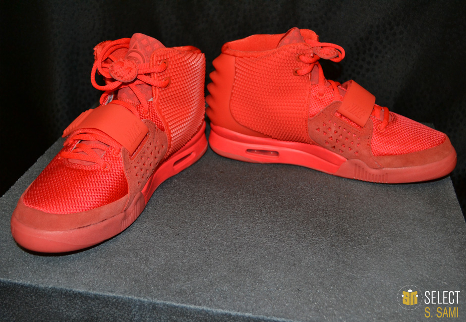 meet 72f05 a406d Nike Air Yeezy II - Red October  Detailed Look  Sole Collect