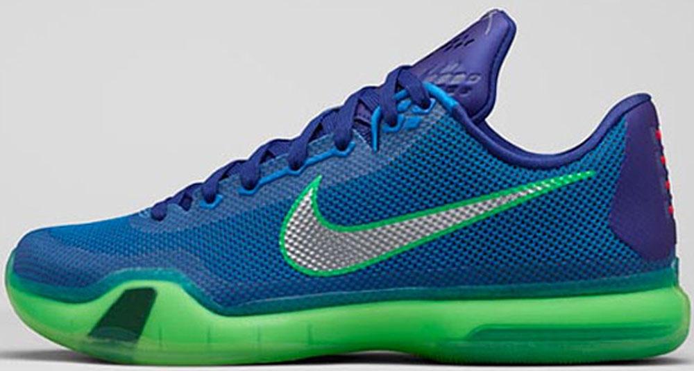 Nike Kobe X Emerald City