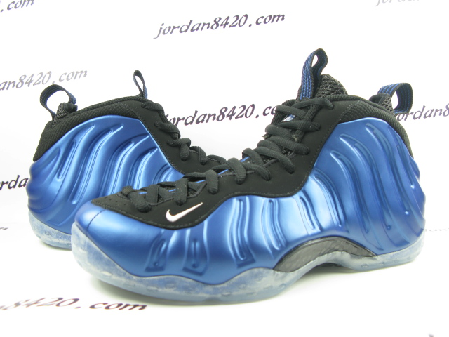 4ef0b1dd84fa2 Nike Air Foamposite One - Dark Neon Royal White-Black - New Images ...