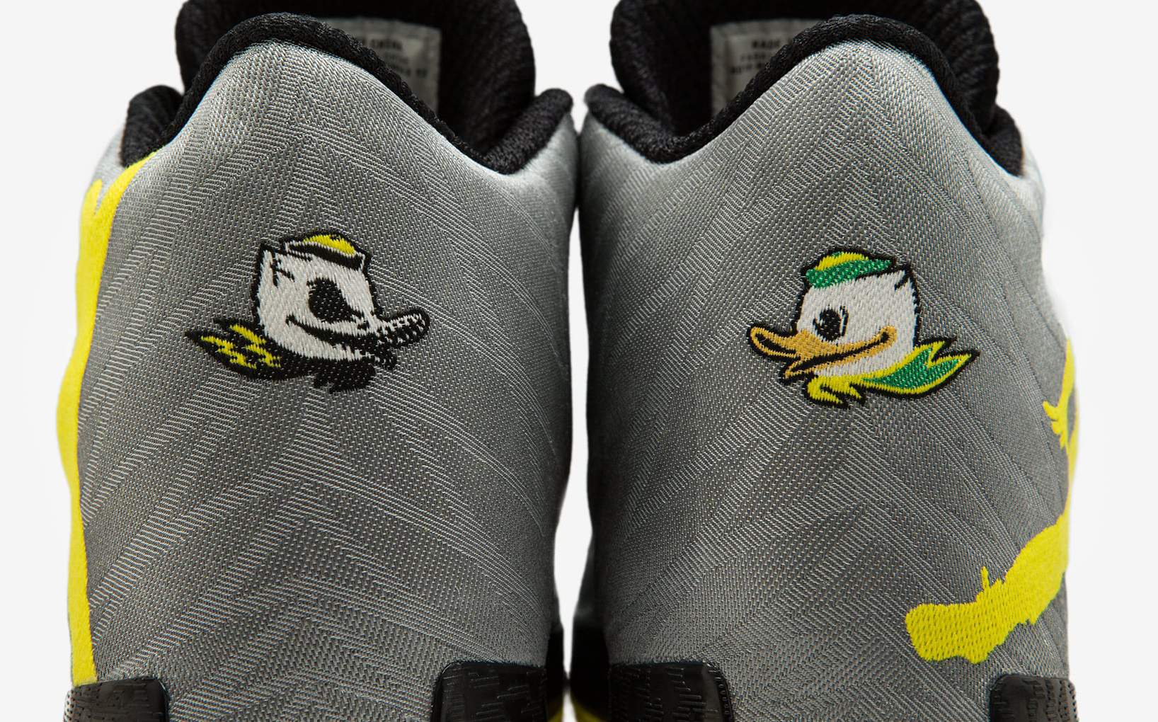 new style 3d622 7cb85 Oregon Ducks Air Jordan 29 Heel