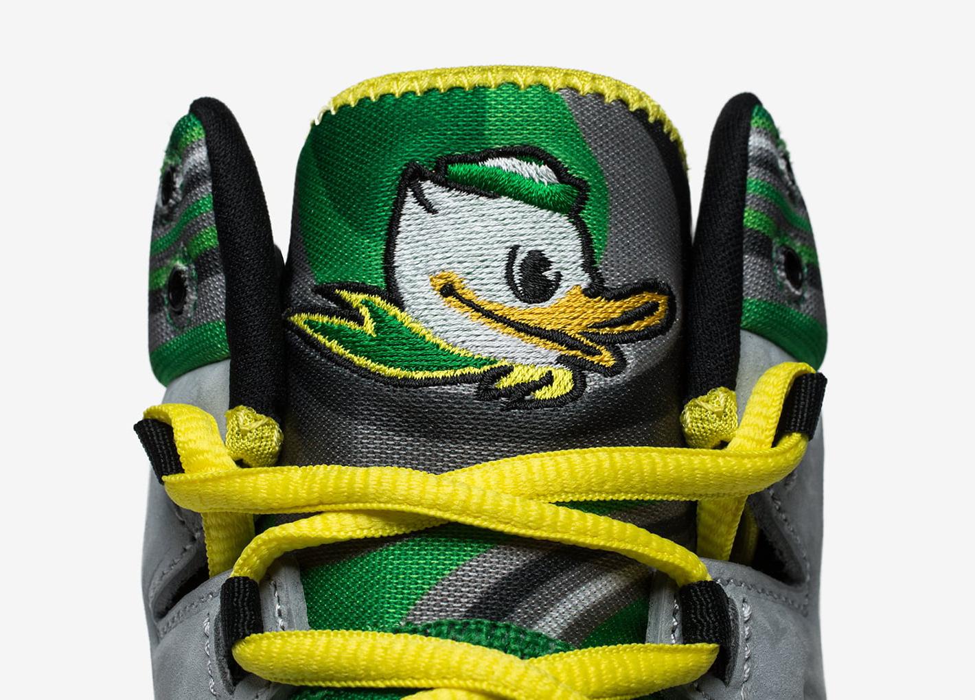6eb55daff155 Oregon Ducks Air Jordan Melo M10 Tongue