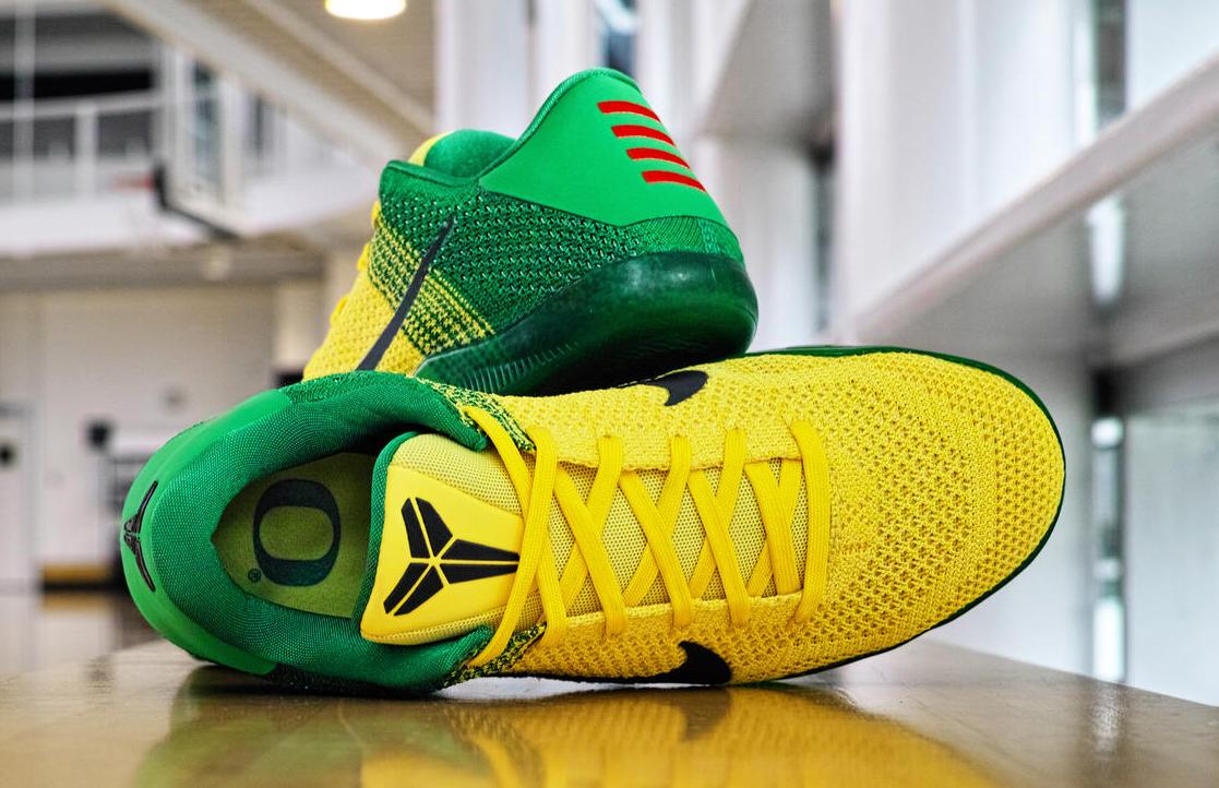 cb4254178c5ad Oregon Ducks Nike Kobe 11   Sole Collector