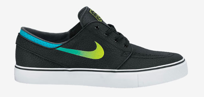 3044199bbdb0 Medium Base Grey   Laser Crimson   Black. Nike Zoom Stefan Janoski Leather  Black   Venom Green   Turbo Green   White