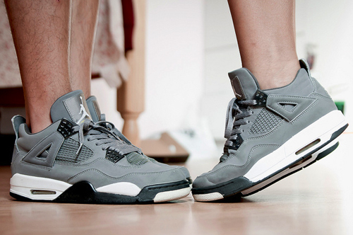 air jordan 4 cool grey