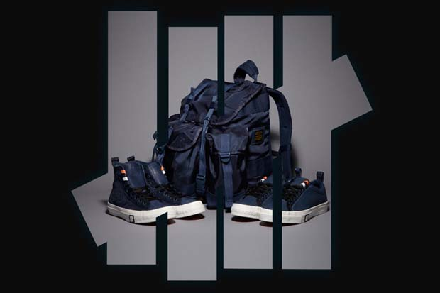 5fdf3ad3b133 Converse x Undefeated Ballistic Navy Capsule Collection