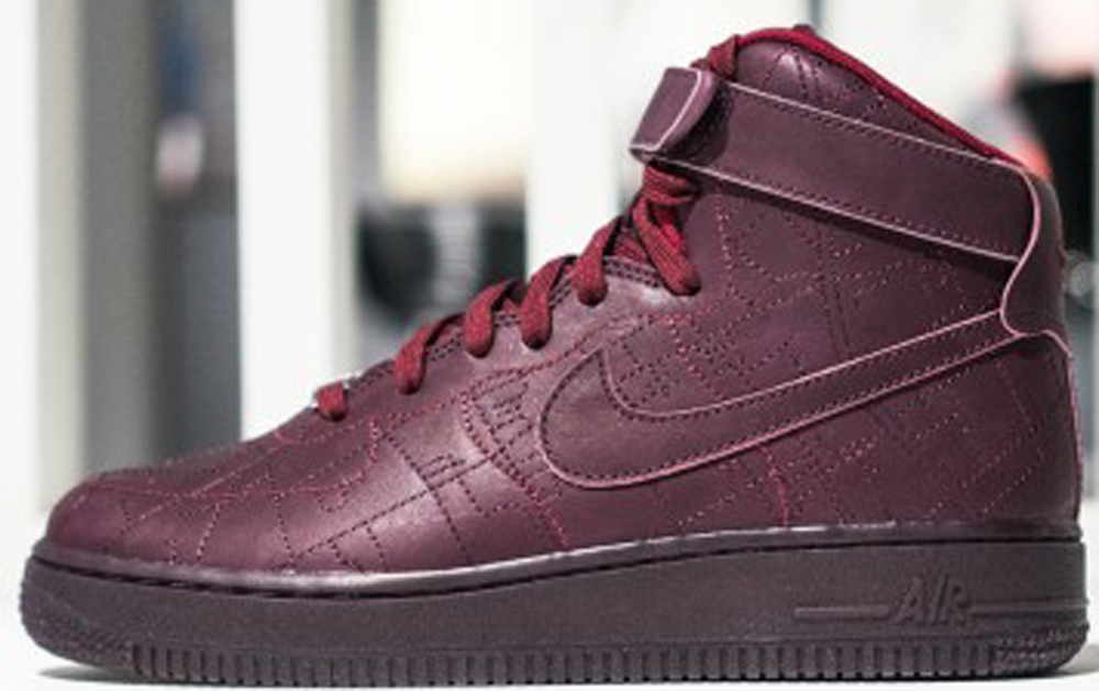 Nike Air Force 1 High Women's Deep Burgundy/Deep Burgundy