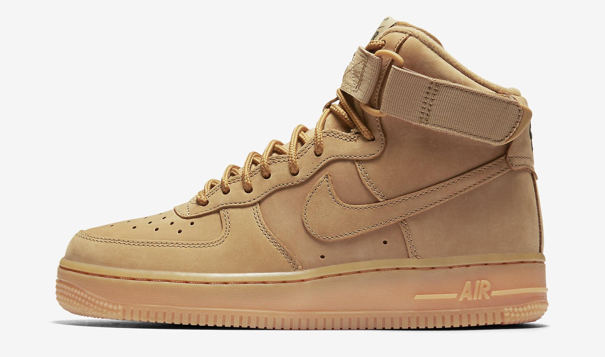 Wheat Nike Air Force 1 654440-200 Profile
