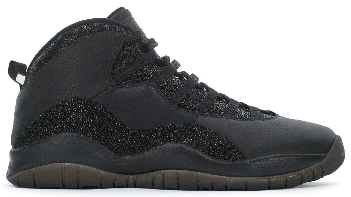 Air Jordan 10 OVO Black Release Date 819955-030