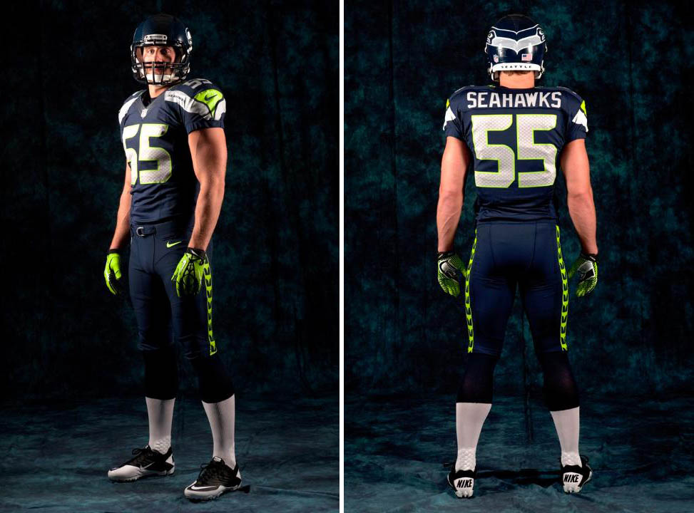 fb8d3134c Nike Unveils New Seattle Seahawks Football Uniforms (2)