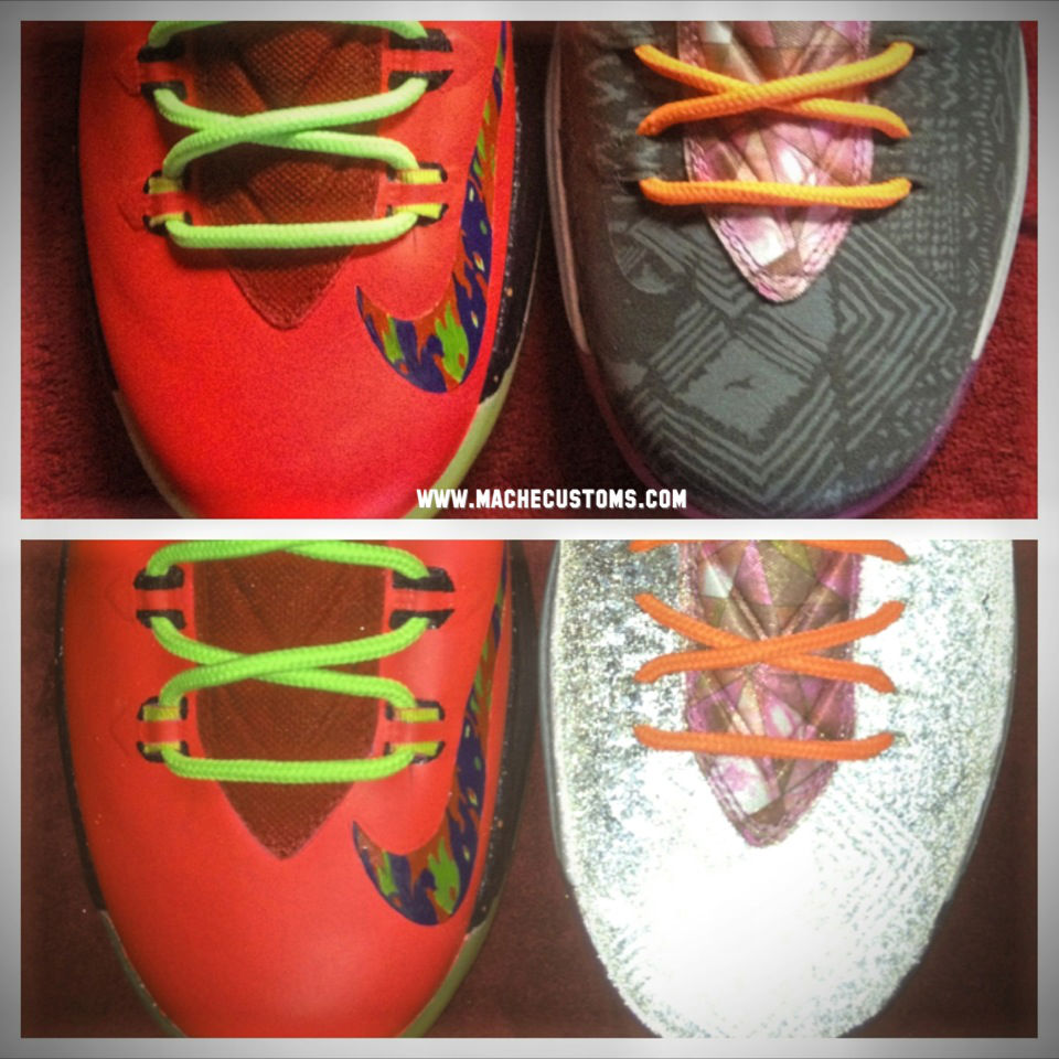 "Nike KD V ""What the KD"" by Mache Custom Kicks (5)"