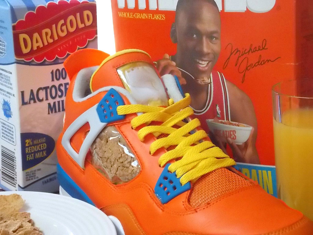 Air Jordan IV 4 Wheaties by emmanueLabor (2)