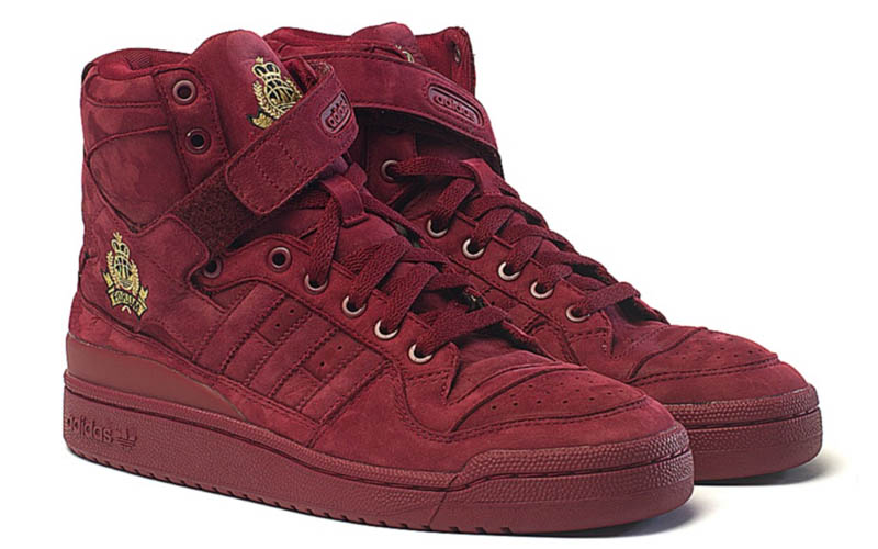 Frank the Butcher x adidas Originals Forum Crest Hi Cardinal