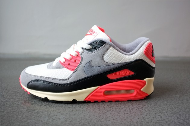 Nike Air Max 90 PRM Vintage Infrared | Sole Collector