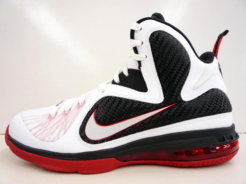black and white lebron 9