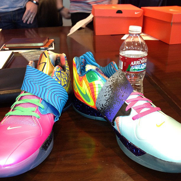 Nike Zoom KD IV - What The KD