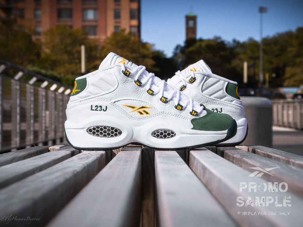 Packer Shoes x Reebok Question LeBron James For Player Use Only (1)