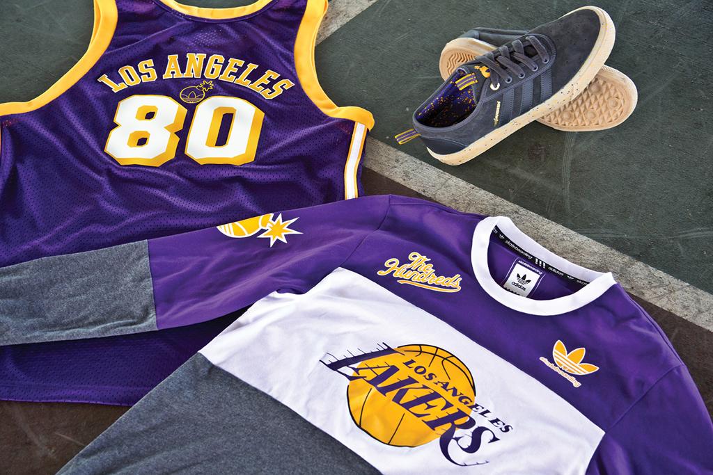 save off 3ea22 3e273 The Hundreds and adidas Skateboarding Take On The NBA