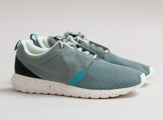 reputable site 498c1 282bf The  Mica Green  Nike Roshe Run NM Breathe is now available online via  CNCPTS.