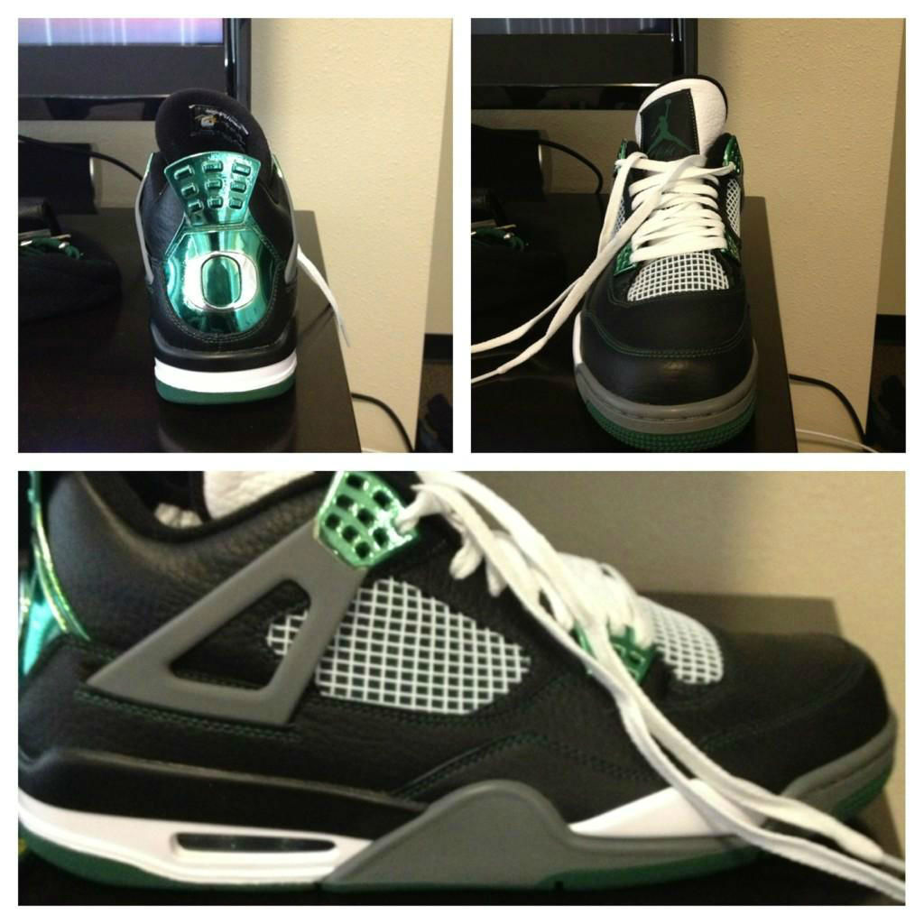 Air Jordan IV 4 Oregon Ducks (4)