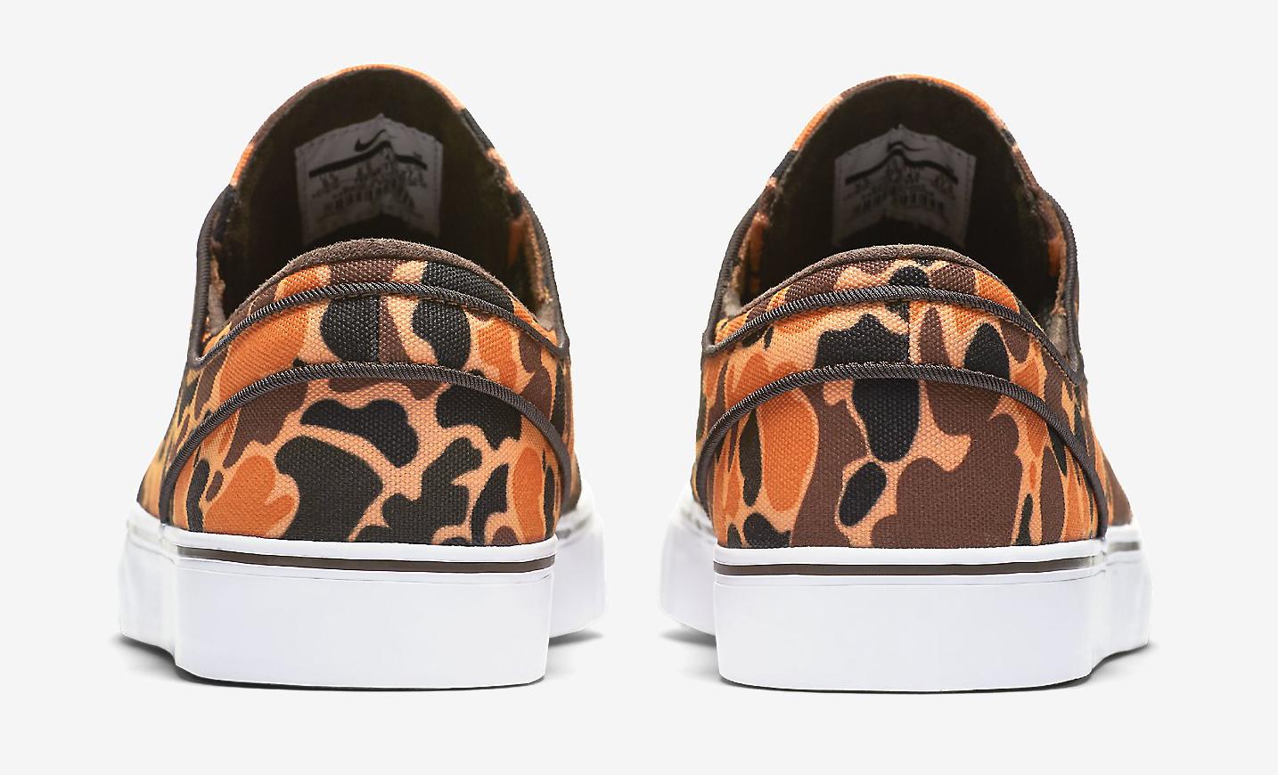 Camouflage Nike SB Janoski Heel