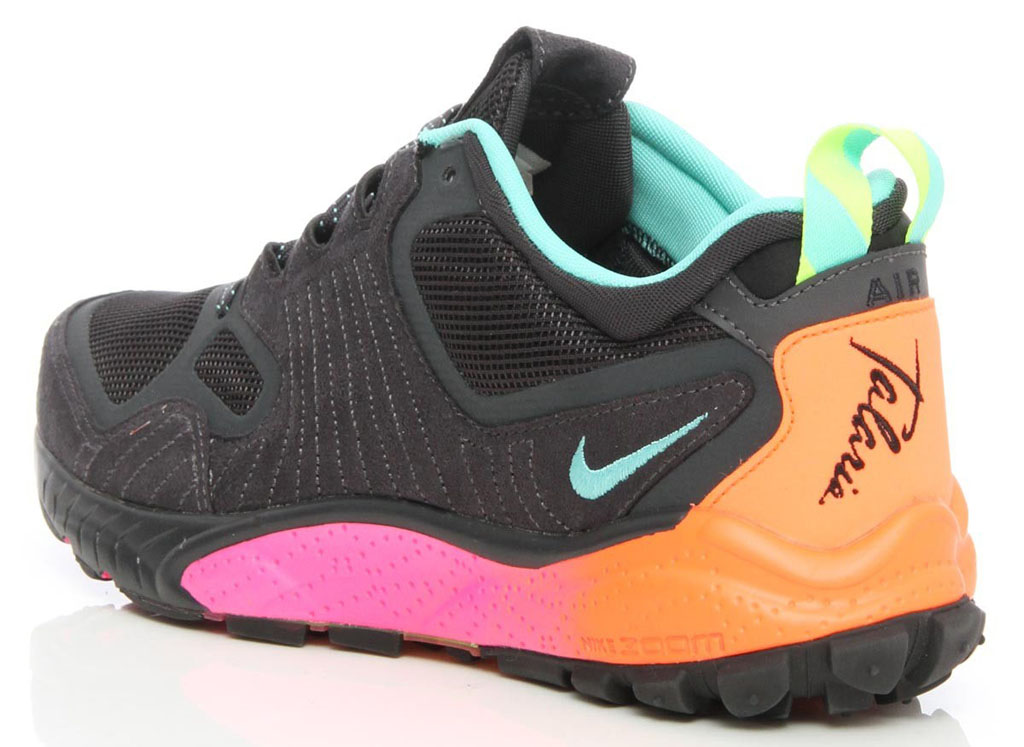Nike Zoom Talaria 2014 Anthracite/Hyper Turquoise 684757-001 (4)