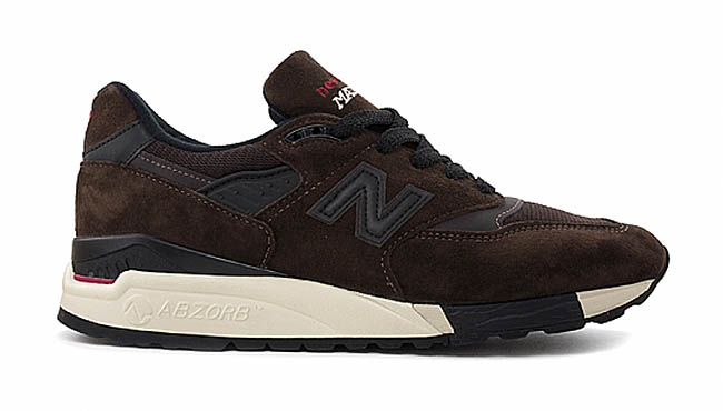 New Balance 998 Made in the USA Brown (2)