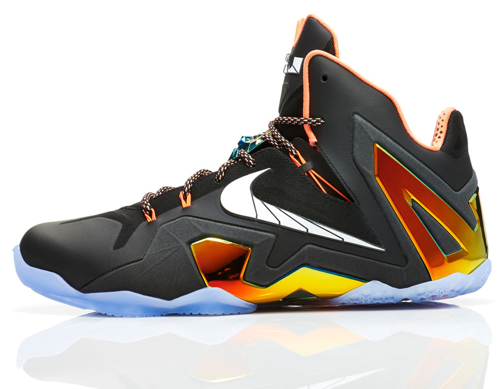 Nike LeBron XI 11 Elite Series Gold (2)