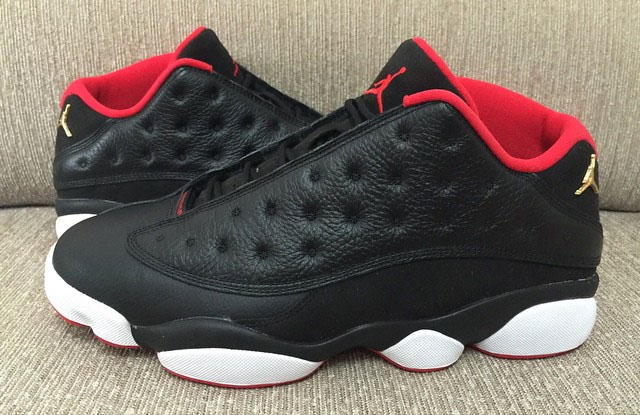 super popular dc68a c218c The Best Look at the Upcoming 'Bred' Air Jordan 13 Low ...