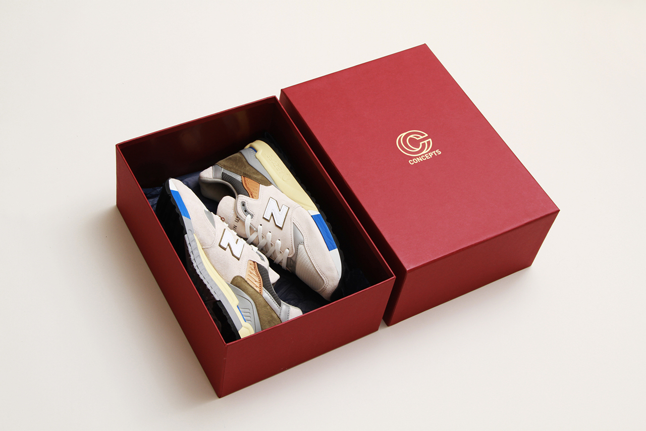 cncpts x new balance made in usa 998 c-note box