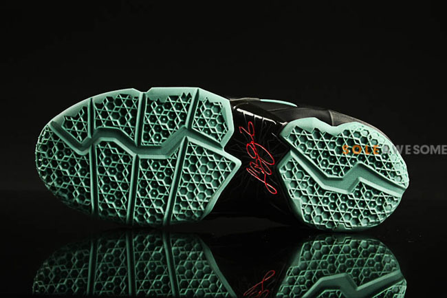 eb9e7b1772ed Nike LeBron 11 GS in Black   Mint   Red    First Look