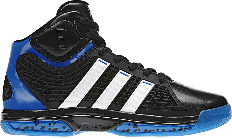 best website ecd5a 74b3b Dwight Howards Orlando Magic adidas Sneaker History - adiPower Howard Away  (1)