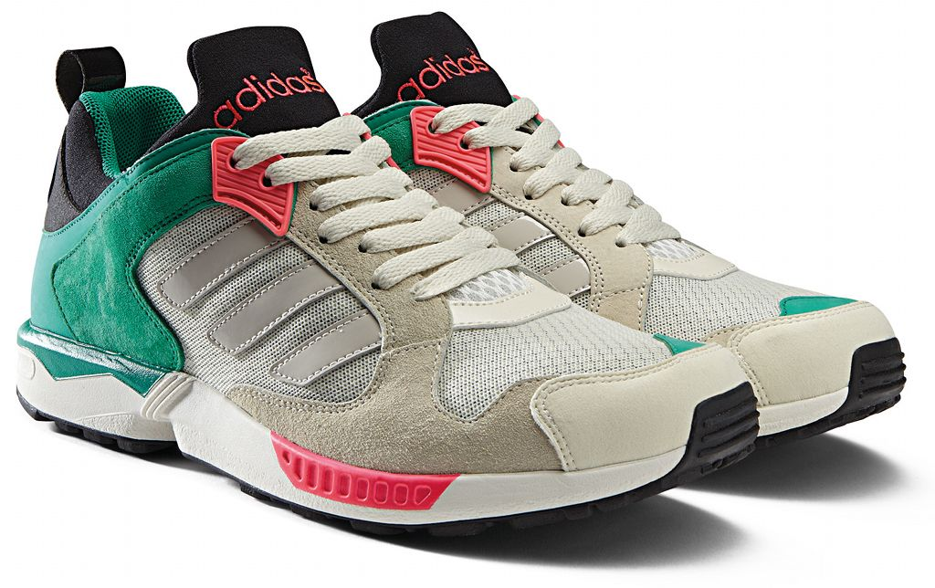 adidas Originals ZX 5000 RSPN - Spring/Summer 2014 - Grey/Green-Pink (2)