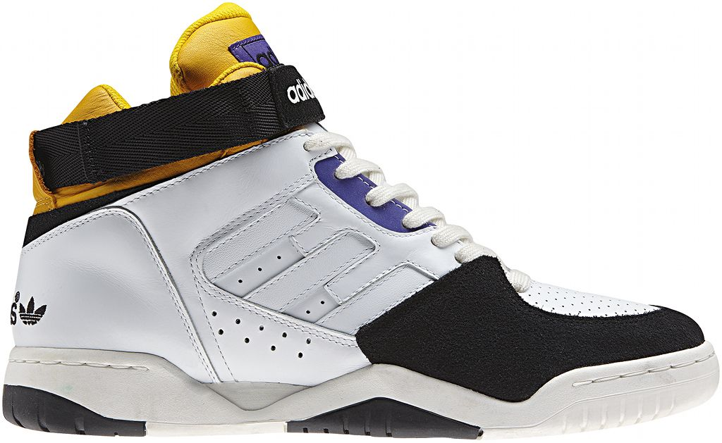competitive price aa0a5 2b907 adidas Originals ENFR Mid FallWinter 2013 White Yellow Purple Black G96677  (1)
