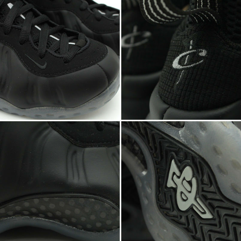 Nike Air Foamposite One Blackout Medium Grey 314996-010 (3)