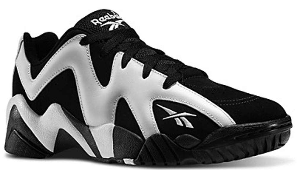 Reebok Kamikaze II Low Black/White
