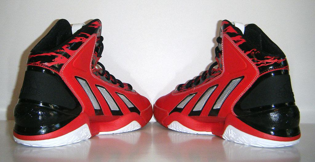 huge discount c1a99 5b7eb adidas adiPower Howard 3 Red Black (7)