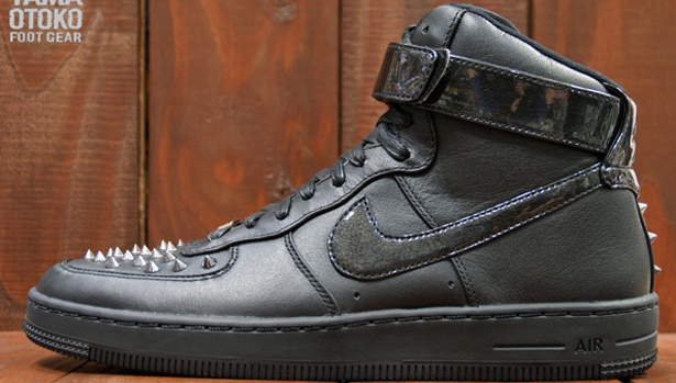Nike Air Force 1 Downtown High Spike Black/Black