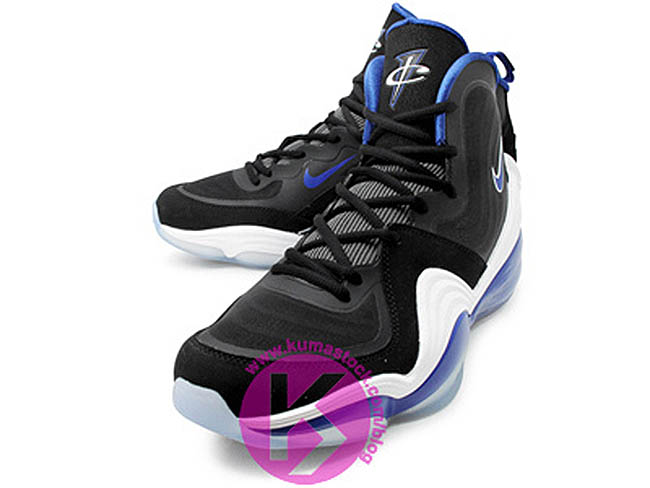 uk availability 3afb7 540ee Nike Air Penny V Black White Game Royal 537331-040 (1)