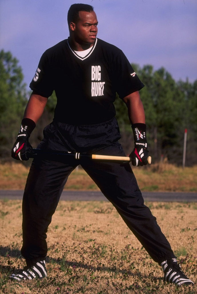 Frank Thomas Wearing Reebok Big Hurt (4)