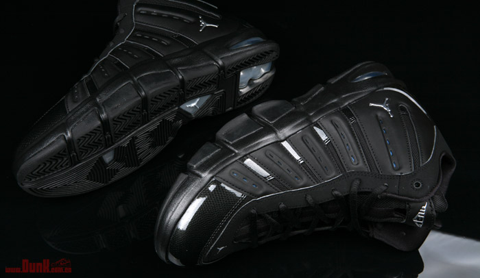 sports shoes 586c4 3431c Jordan Melo M7 Black Metallic Silver University Blue 414843-001