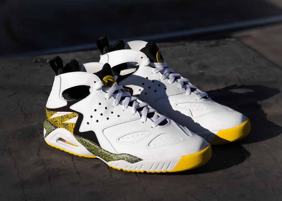 online retailer 3cac3 8354d Nike Air Tech Challenge Huarache  Tour Yellow  - Back After 22 Years